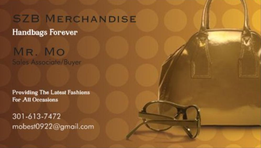 SZB Merchandise