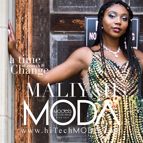 MODA MODEL Maliyah Martin