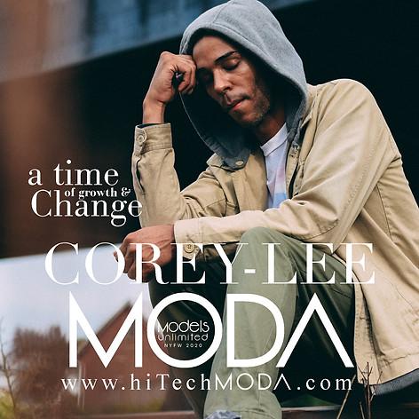 MODA MODEL Corey-Lee Mays