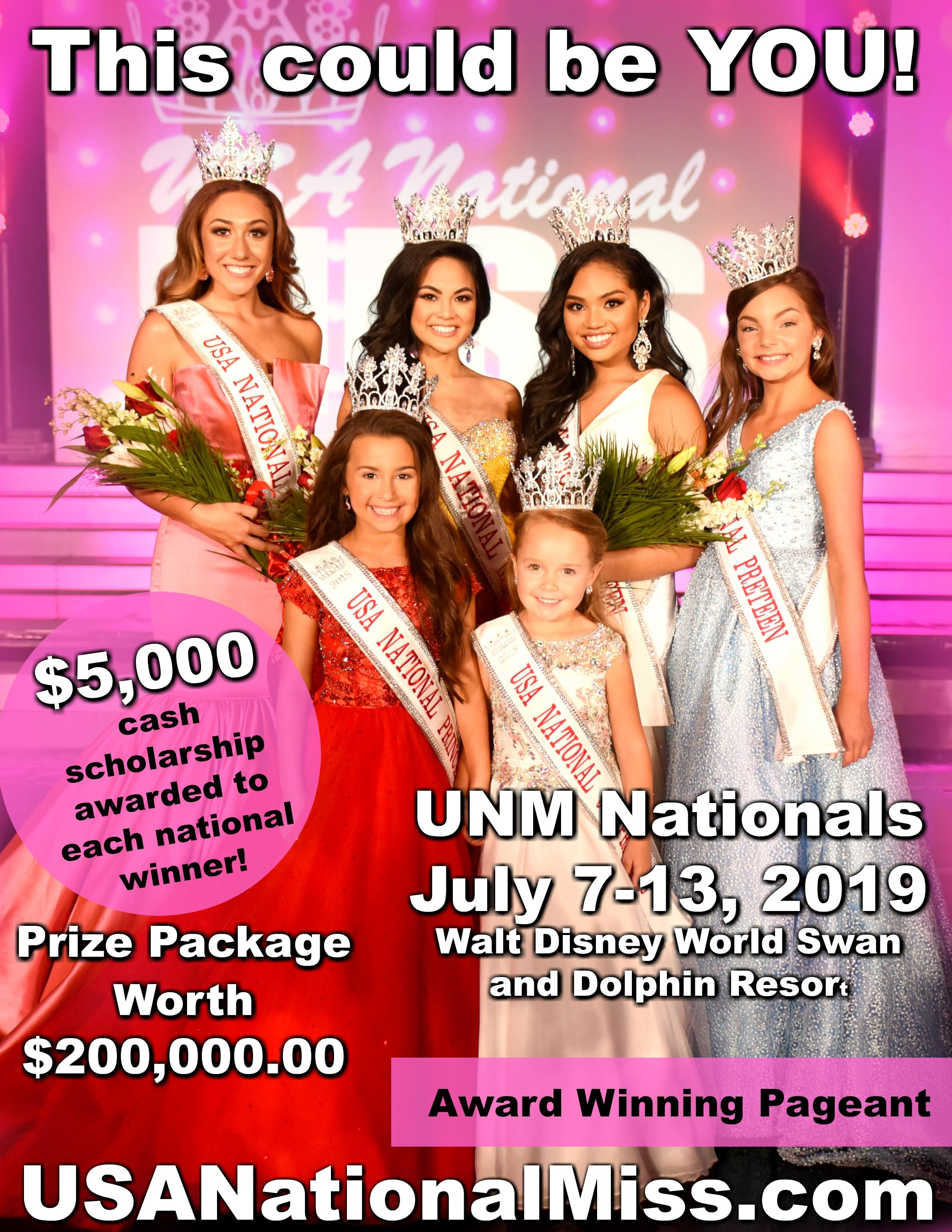USA National Miss