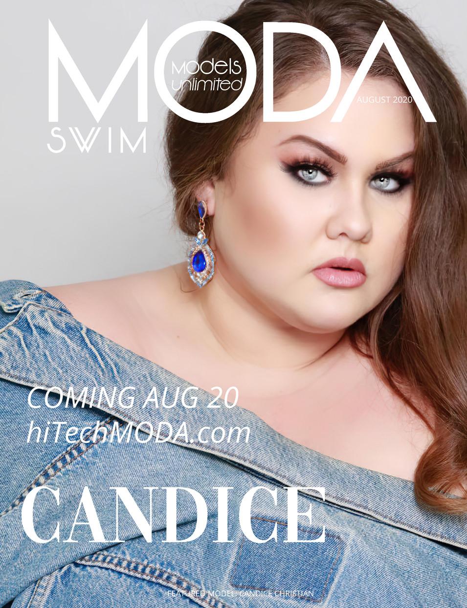 Moda Models Unlimited Swim Issue Candice