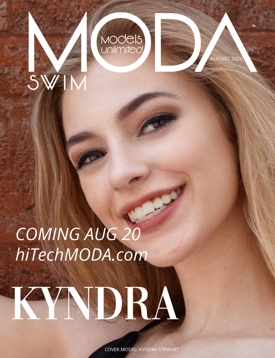 Moda Models Unlimited Swim Issue Kyndra