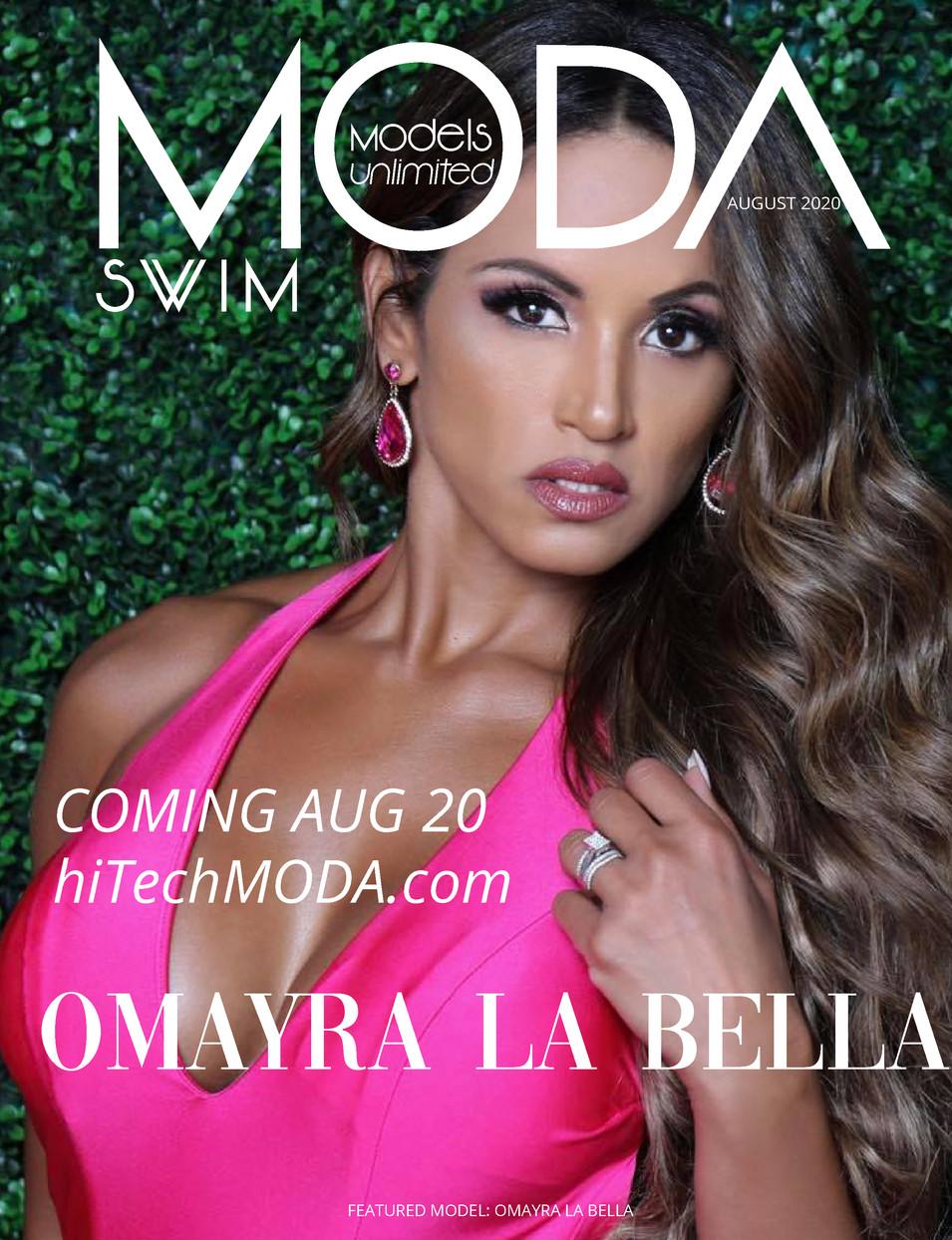 Moda Models Unlimited Swim Omayra La Bella