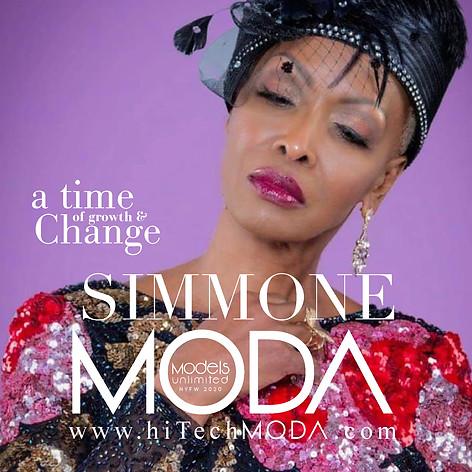 MODA MODEL Simmone Blake