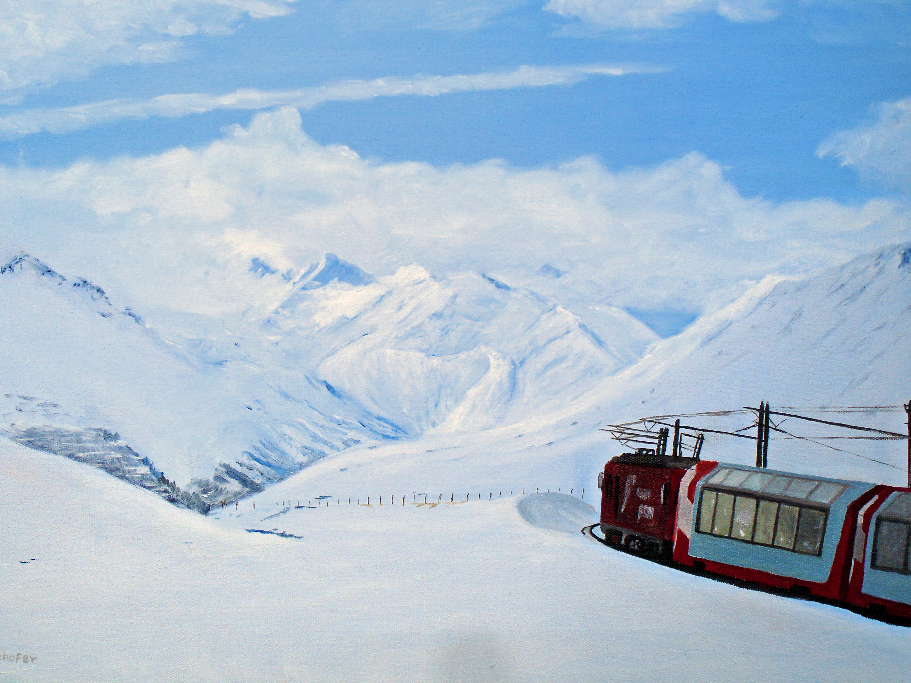 Glacier Express to Zermatt