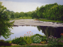 Bull Pond from Lorie's Garden II