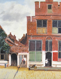 study of The Little Street by Vermeer-1EDITED