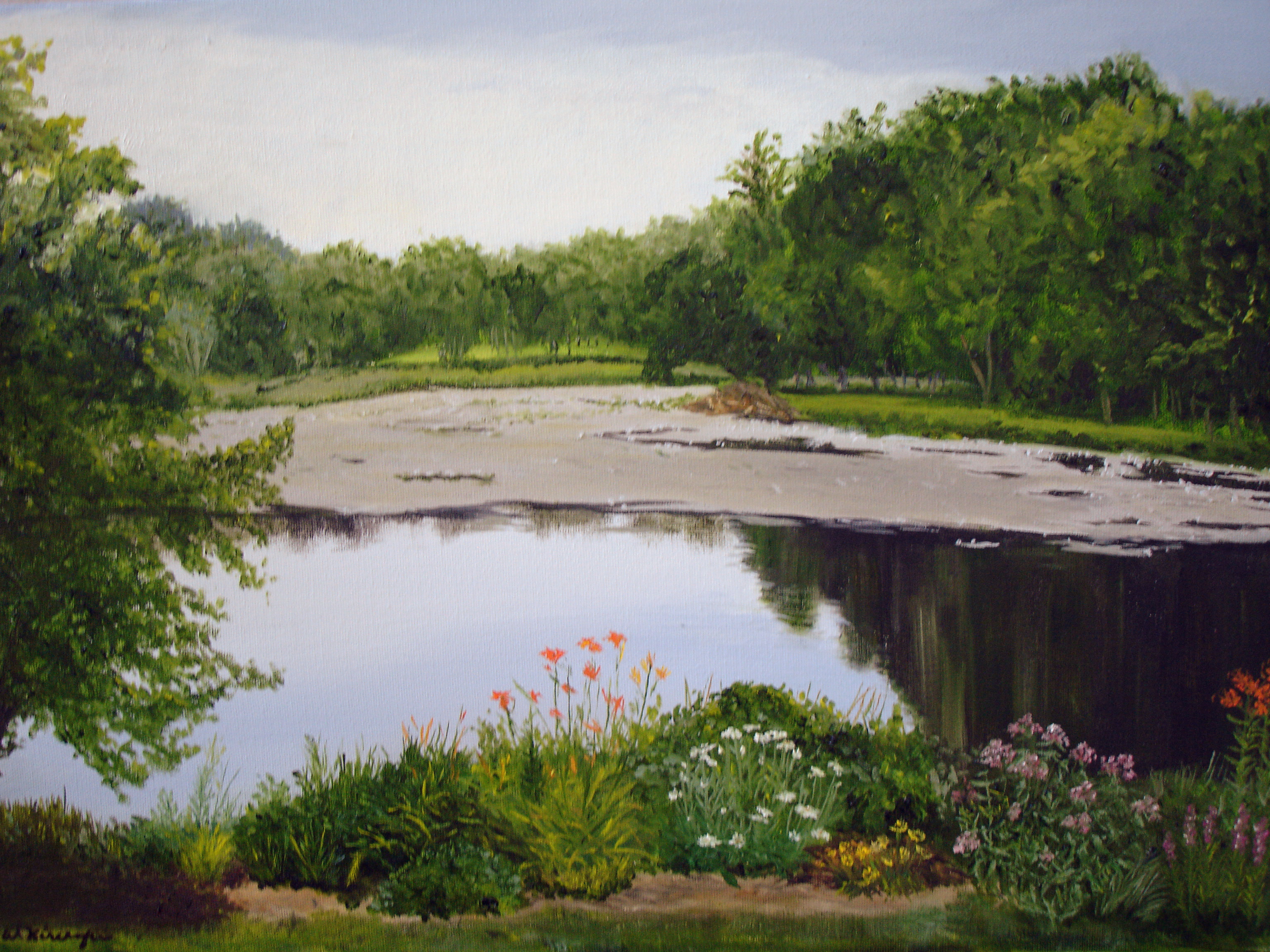 Bull Pond from Lorie's Garden II
