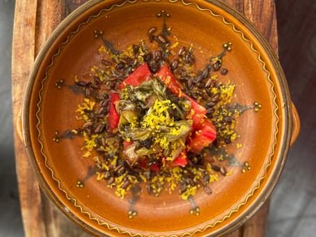 Lauwarmer Herbstsalat mit Radicchio