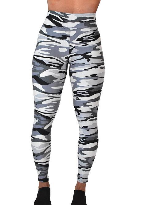 Charcoal Camouflage Leggings