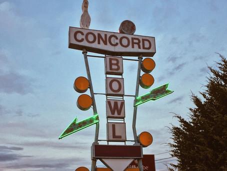 Concord Bowl Closed till June 15th?