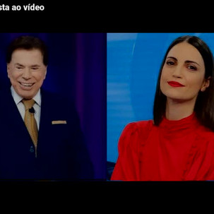 Domingo estréia nova versão do Programa Sílvio Santos. A novidade será uma mulher