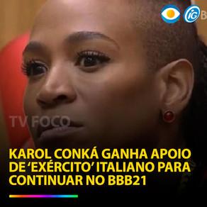 """""""Guerra"""" Itália vs Brasil por causa  do BBB deles e o nosso"""
