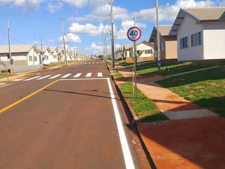 "Aos poucos o ""novo"" bairro  de Cianorte começa a ser habitado"