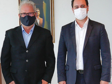 Marco Franzato se reúne com governador e anuncia melhorias para Cianorte