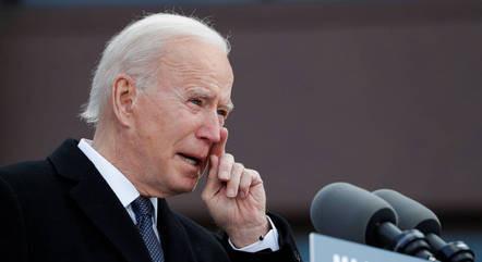 Presidente Biden faz  um discurso pacificador