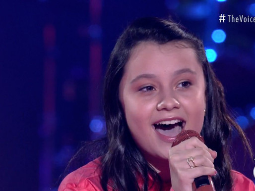 'The Voice Kids Live': Jovem cantora de Alto Piquiri (PR) vira sensação na internet