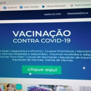 Prefeitura cria canal com as informações sobre a vacinação em Cianorte
