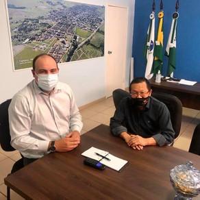 Prefeitos de Tapejara e Tuneiras afinam conversa em projetos de interesse comum