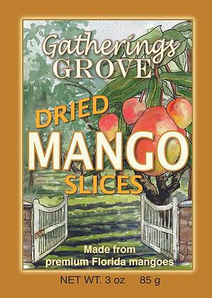 Dried Mango Slices - Net Wgt. 3 oz. (85g)