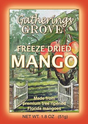 Freeze Dried Mango Net Wgt. 1.8 oz (51g)