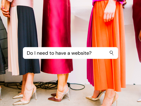 Do I need to have a website?