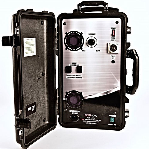 "PEMF 8000 Mobile DEVICE | ""PEMF SPECIAL"""