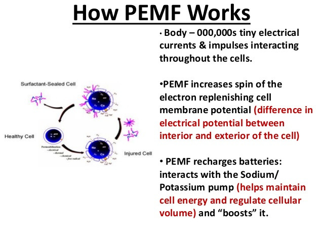 pemf WORKS WITH CELLS