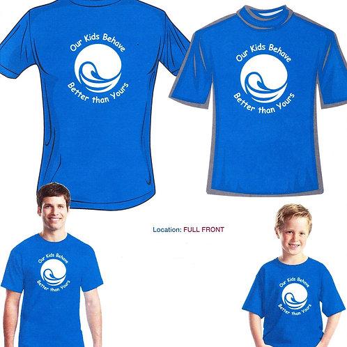 OSB Neon Blue T-Shirt