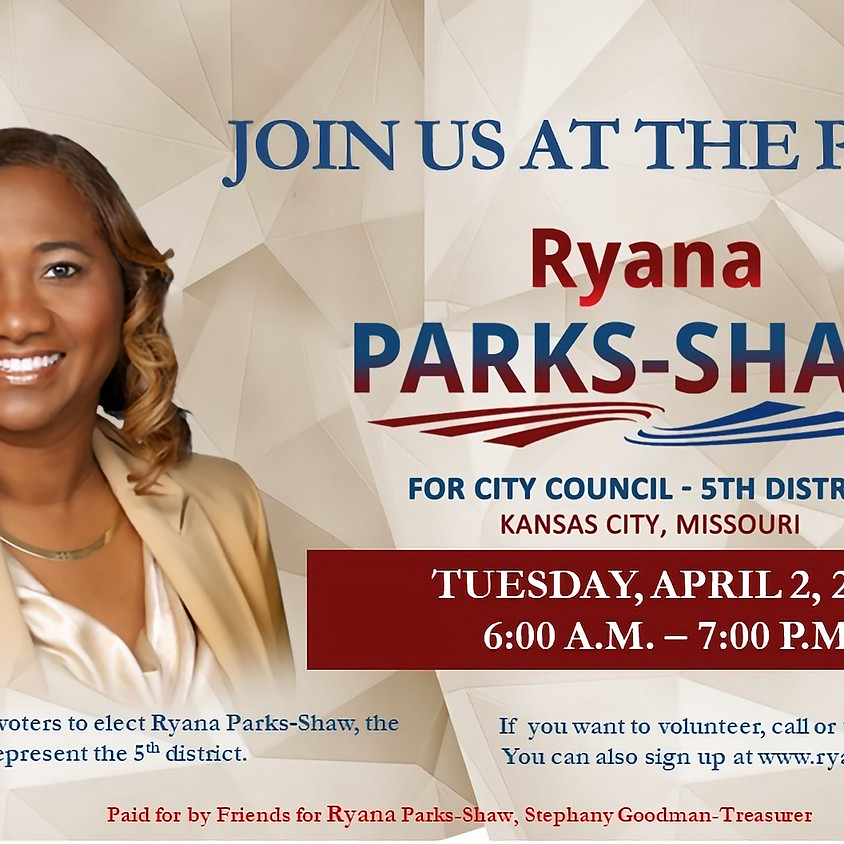 Join Team Ryana at the Polls