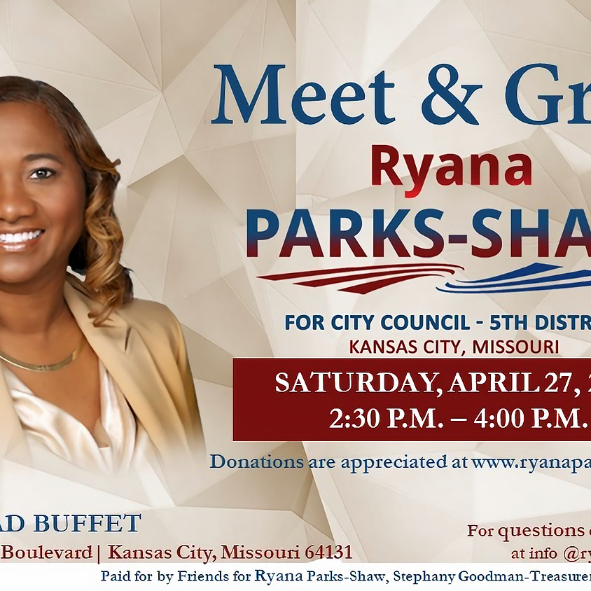 Meet and Greet Ryana Parks-Shaw