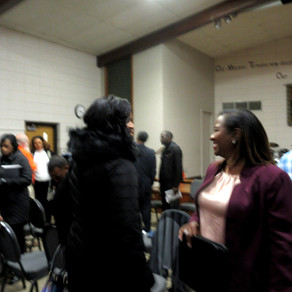 Ryana Parks-Shaw Participates in Her First City Council Candidate Forum