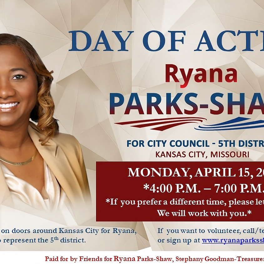 Day of Action with Team Ryana