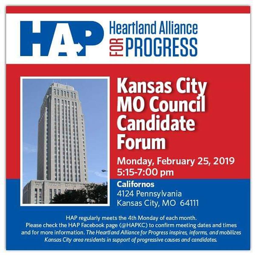 Kansas City, Missouri Council Candidate Forum