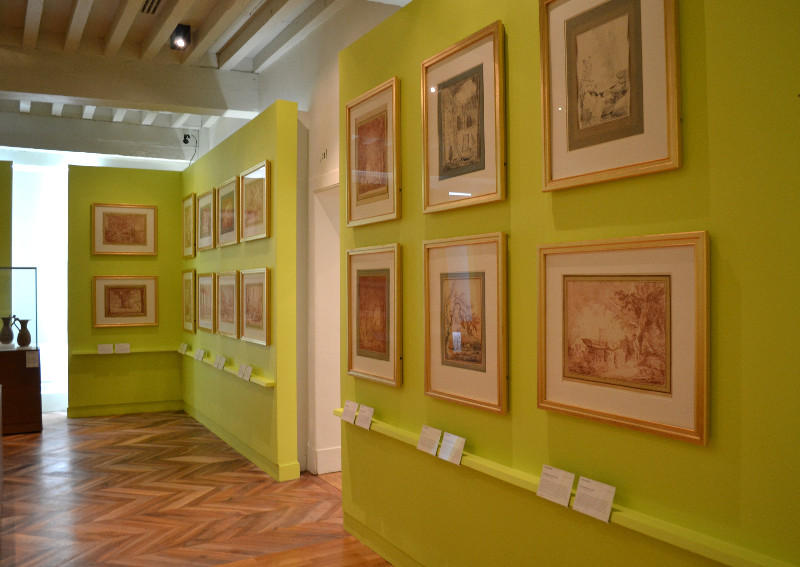 Salle Hubert Robert, musée de Valence - photo : Sarah Catala