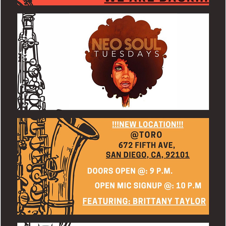 Neo Soul Tuesdays