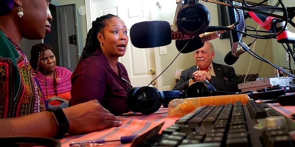 KNSJ 89.1 FM Alafia Voices of the African Diaspora - Meeting with the San Diego Black LGBTQ Coalition