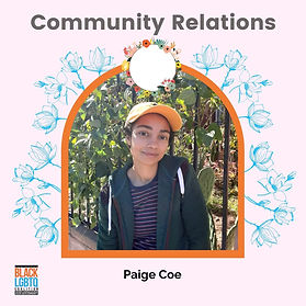 Paige Coe (they/them)
