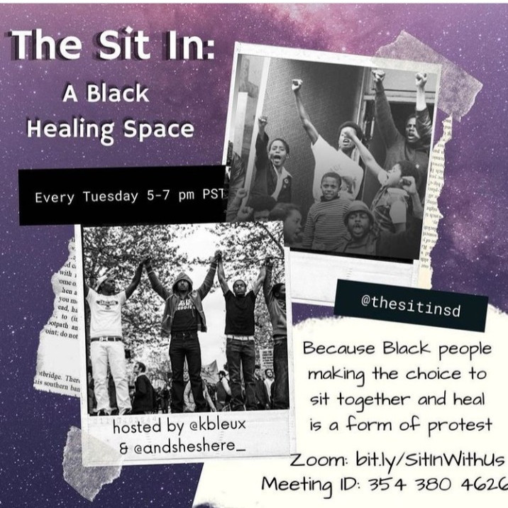 The Sit In: A Black Healing Space