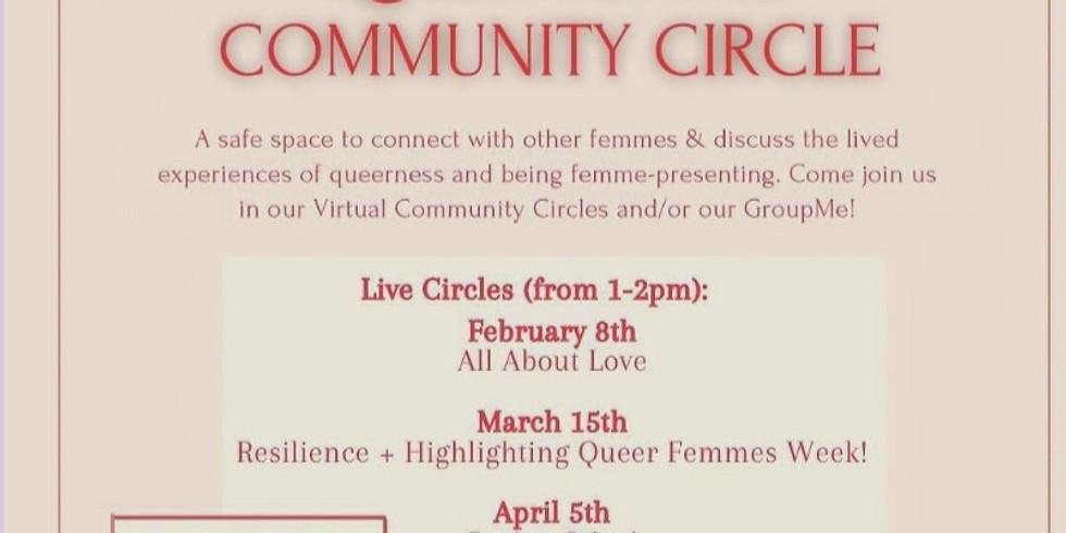 Queer Femme Community Circle