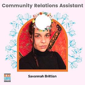 Savannah Brittain (she/her)