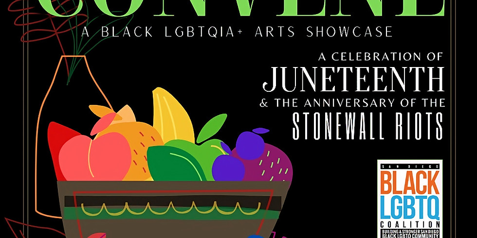 Black LGBTQIA+ Arts Showcase