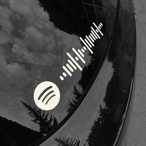 Autocollant Spotify Code
