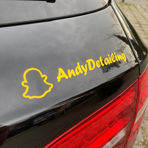 Autocollant Snapchat