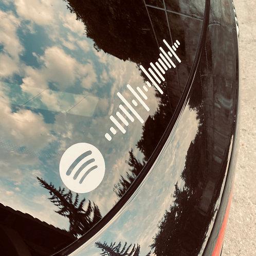 Adesivo Spotify Code
