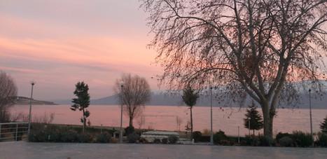 Turpol restaurant'dan günbatımı