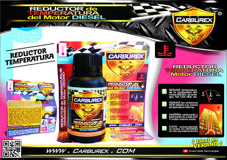CARBUREX - REDUCTOR TEMPERATURA CALOR MO