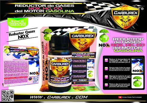 CARBUREX - REDUCTOR GASES NOX HUMOS CONT