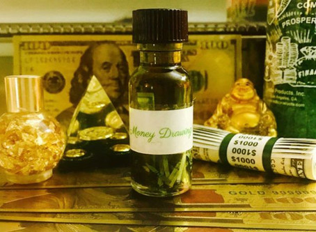 Spiritual Oils For Money | Money Drawing Oil Spells & Magic