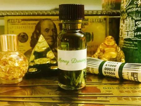 Spiritual Oils For Money   Money Drawing Oil Spells & Magic